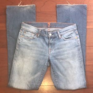 7 For All Mankind size 29 bootcut Jean